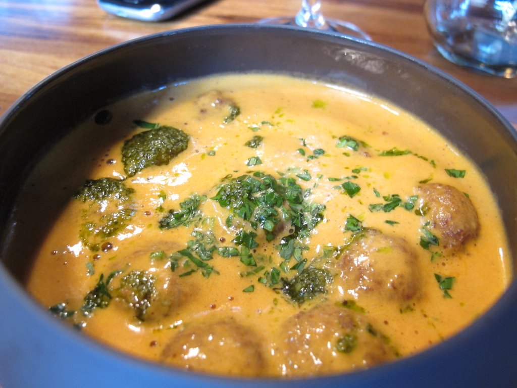 polpettine, Spice Bistrò & Bar, Chef Misha Sukyas, Milano