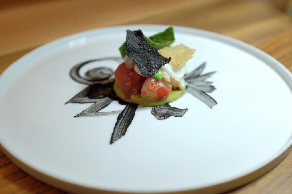 zuppa di pesce, Osteria Francescana, Chef Massimo Bottura, Modena