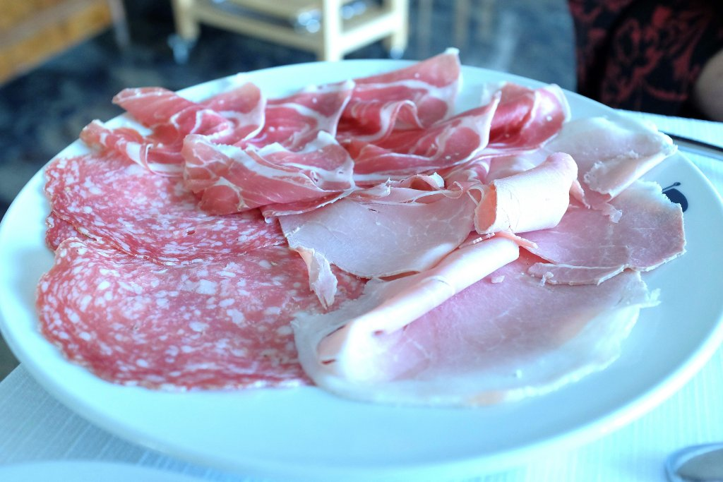 Affettati, Campo delle Stelle, Chef Giovanni Re, Vanzago, Milano
