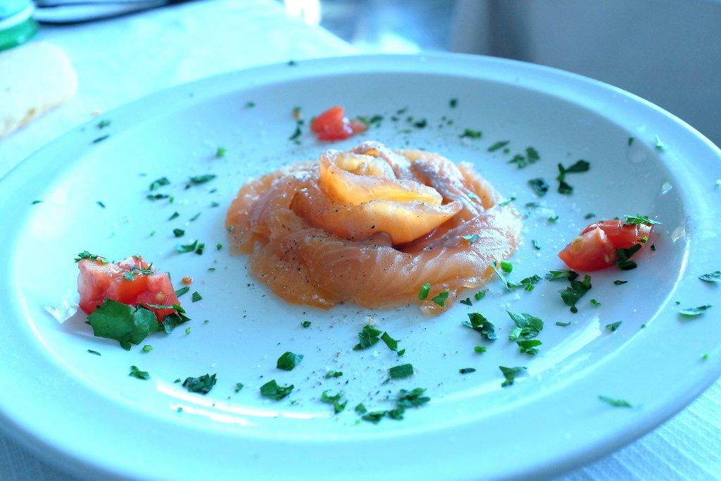 Salmone, Campo delle Stelle, Chef Giovanni Re, Vanzago, Milano