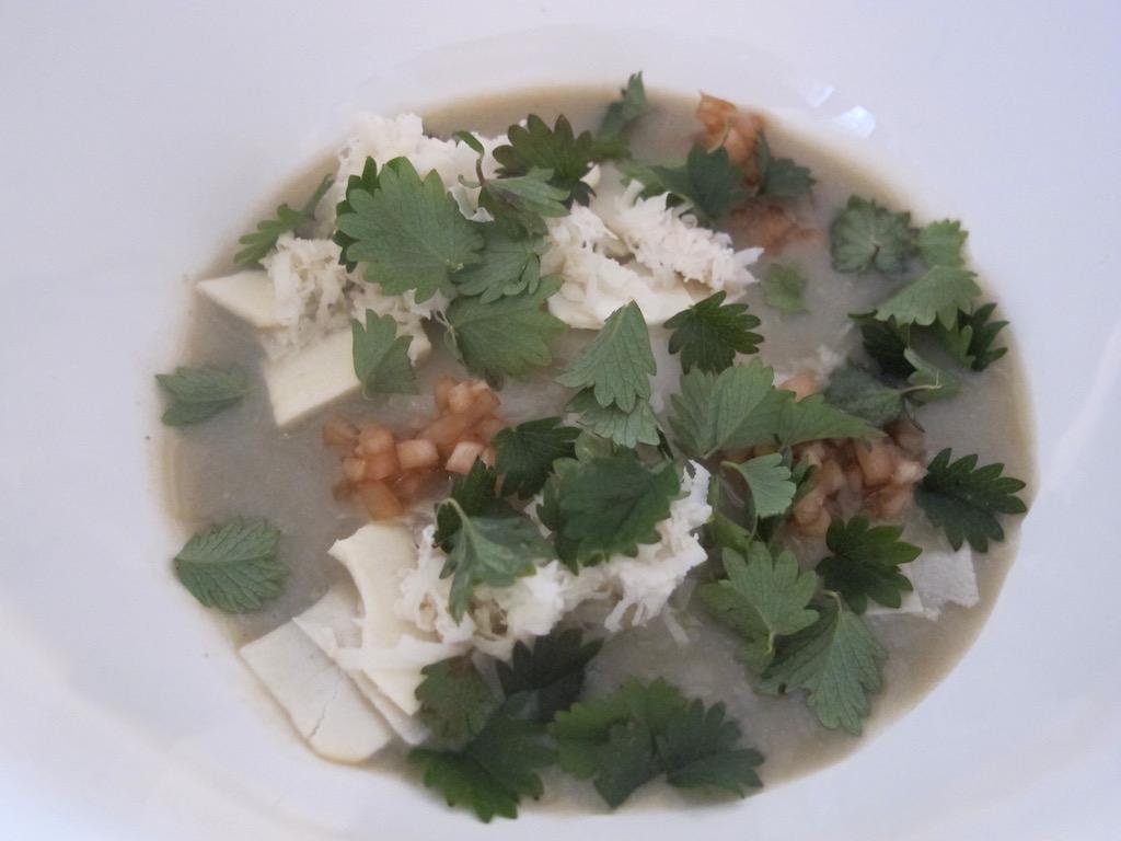 Gnocco di riso, El Coq, Chef Lorenzo Cogo, Marano Vicentino