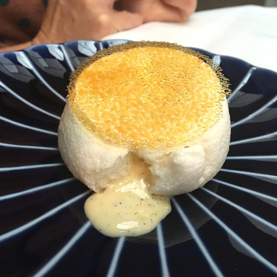 blanc manger, Le Grand Restaurant, Chef Jean-François Piège, Parigi