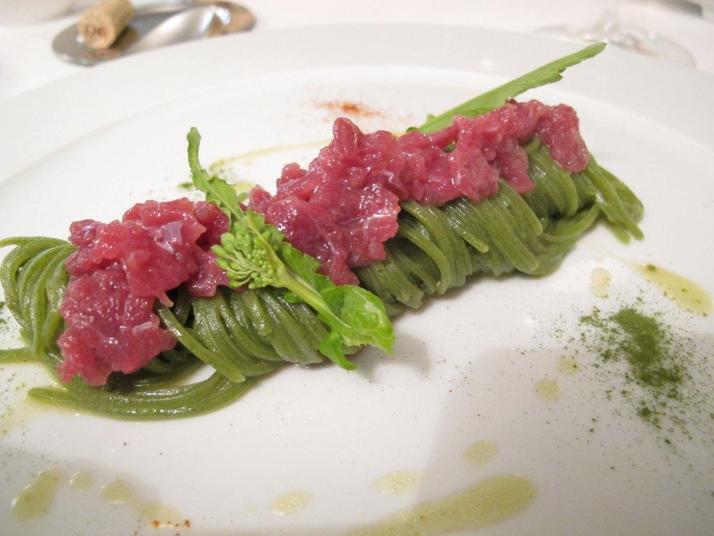Broccoli e salsiccia, Piazzetta Milù, Chef Luigi Salomone, Castellammare di Stabia, Napoli