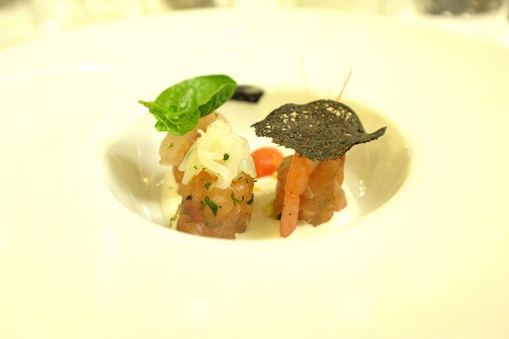 crudo di tonno, Ristorante Tocco, Hotel Montreal, Chef Dario Di Liberto, Ragusa