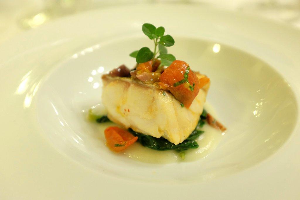Cernia, Ristorante Tocco, Hotel Montreal, Chef Dario Di Liberto, Ragusa