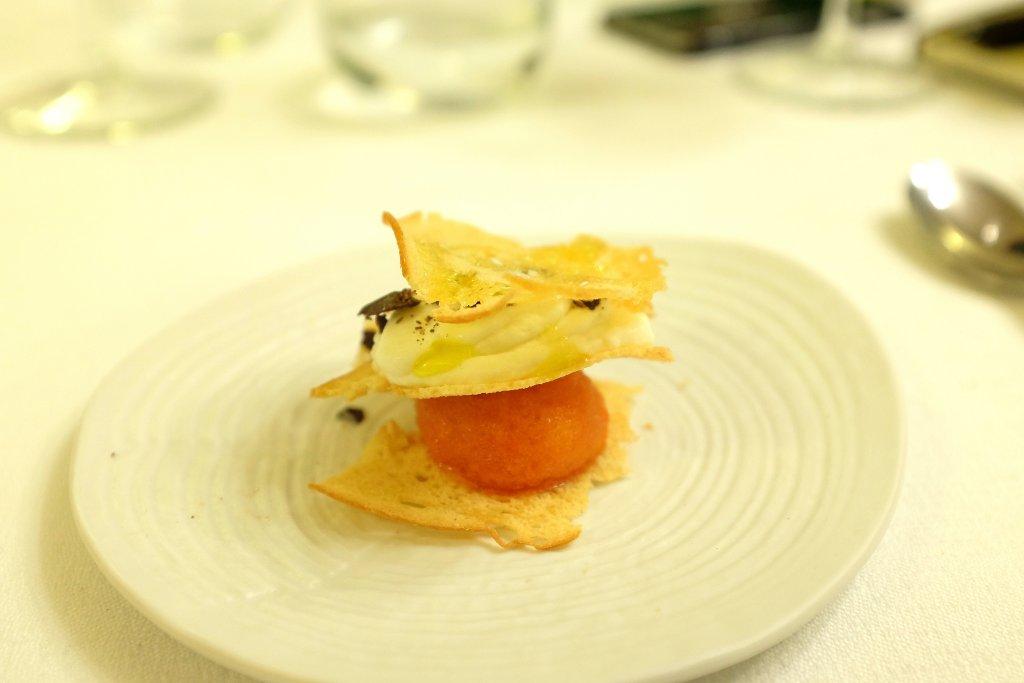 predessert, Ristorante Tocco, Hotel Montreal, Chef Dario Di Liberto, Ragusa
