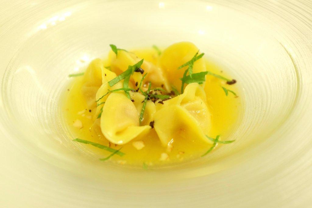 ravioli, Ristorante Tocco, Hotel Montreal, Chef Dario Di Liberto, Ragusa