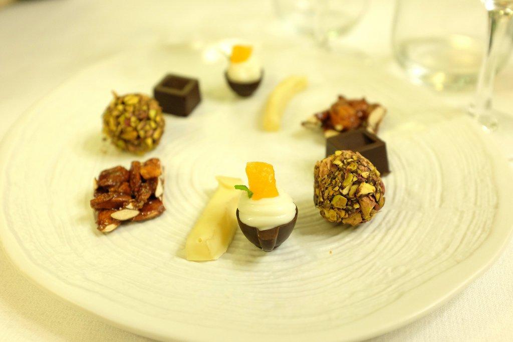 piccola pasticceria, Ristorante Tocco, Hotel Montreal, Chef Dario Di Liberto, Ragusa