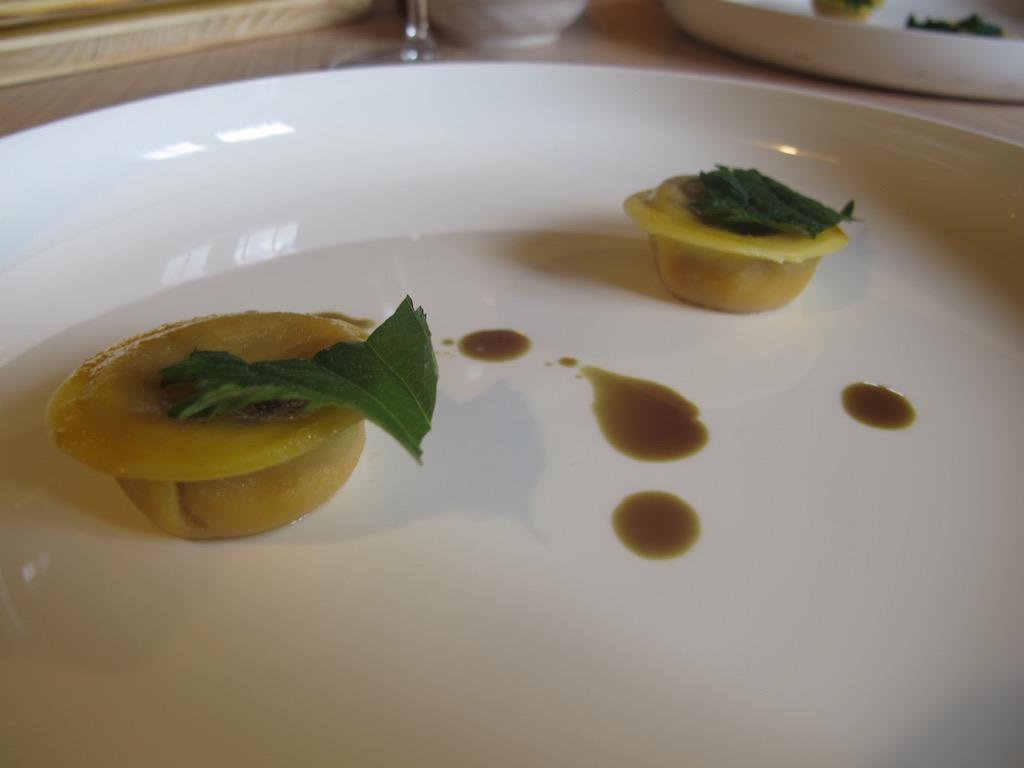 ravioli, Aga, Chef Oliver Piras, Alessandra del Favero, San Vito di Cadore