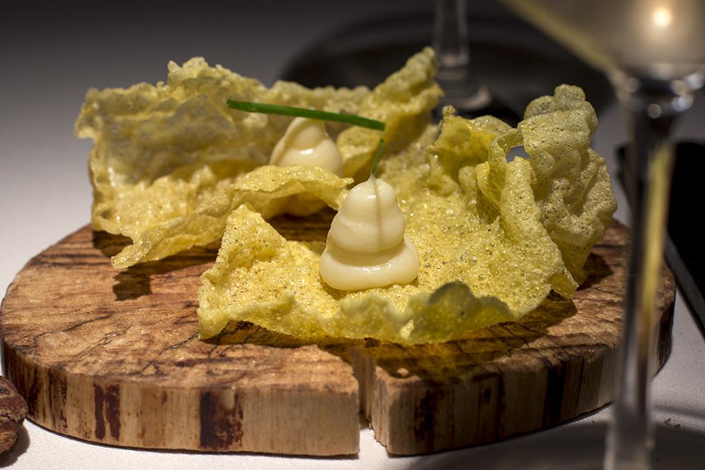 cialde di riso, Essenza, Chef Eugenio Boer, Milano