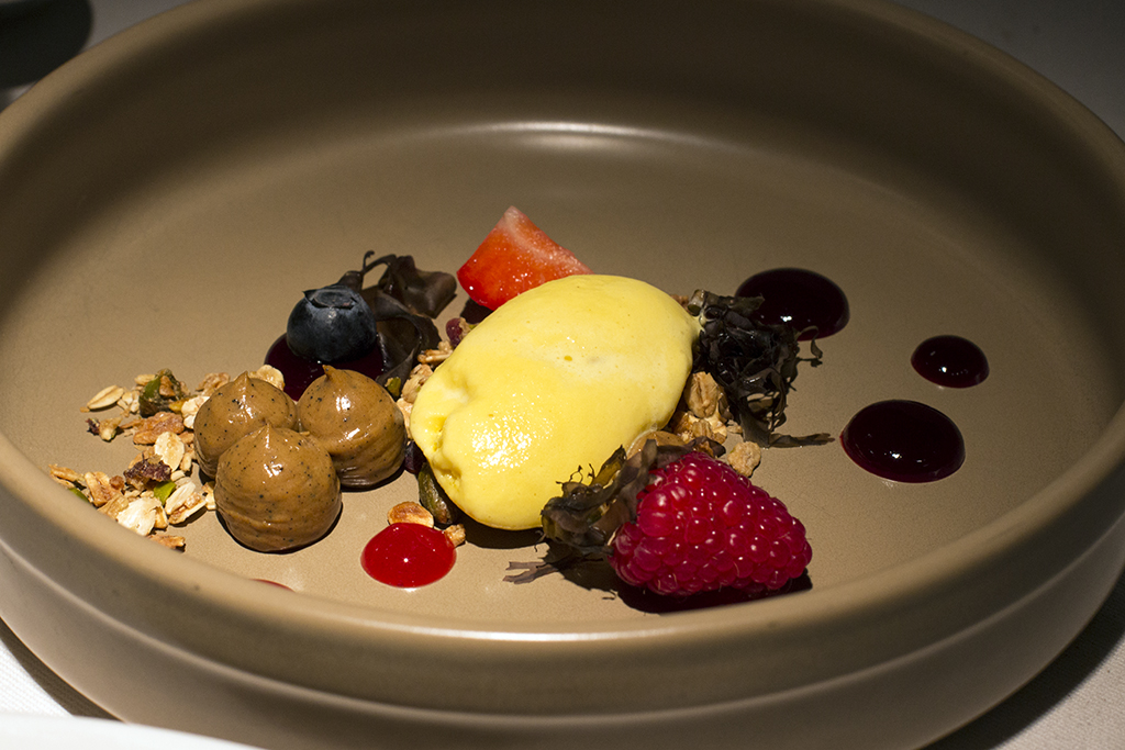 dessert, Essenza, Chef Eugenio Boer, Milano