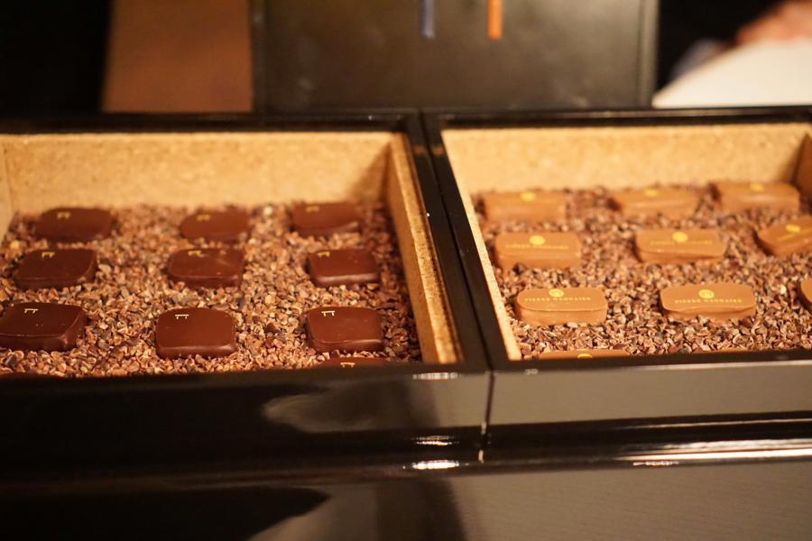 cioccolatini, Pierre Gagnaire, Parigi