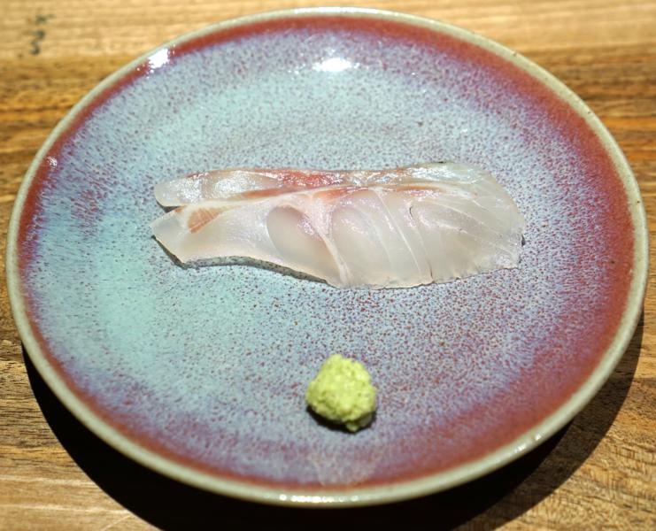 Sashimi di branzino, Jin, Takuya Watanabe, Parigi