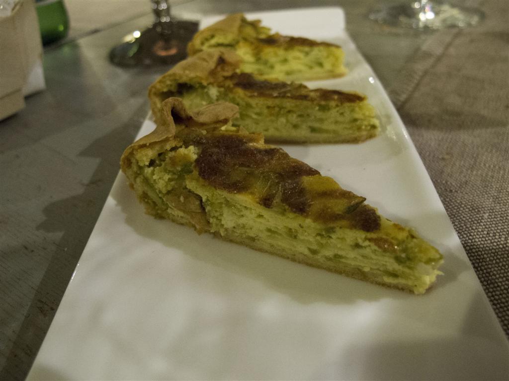 tortino di zucchine, Il Merlo, Chef Angelo Torcigliani, Camaiore