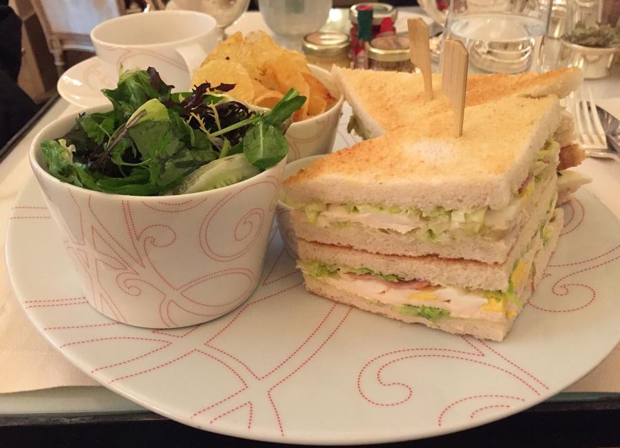 Club sandwich, La Galerie, Plaza Athénée, Parigi
