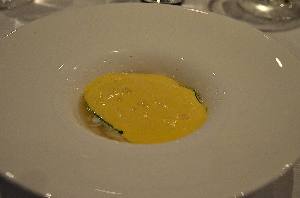 Congee di granchio, Quay, Chef Peter Gilmore, Sydney, Australia, Masterchef
