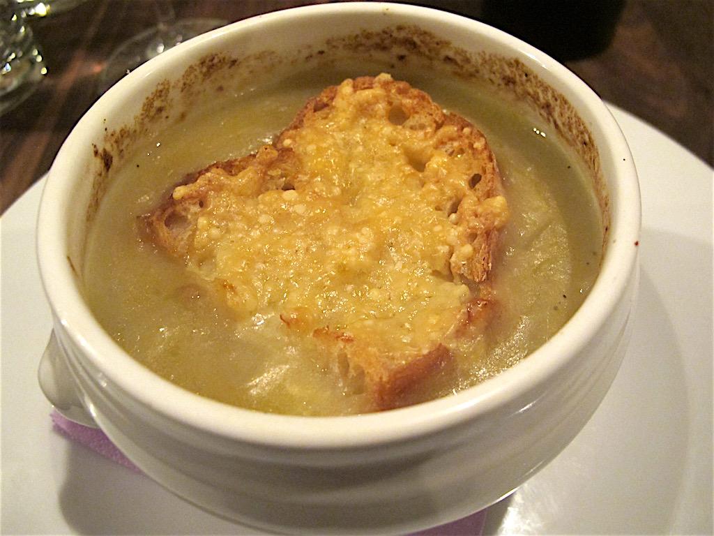 Zuppa di cipolle, Secondo Tradizione Banco&Cucina, Roma