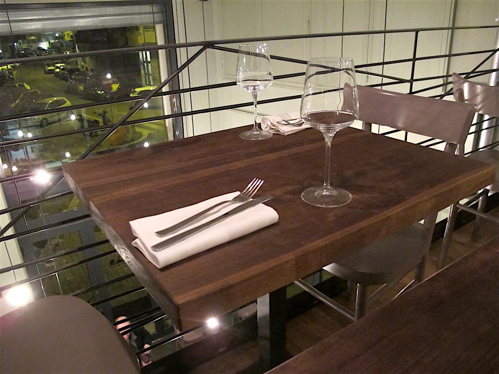 mise en place, Secondo Tradizione Banco&Cucina, Roma