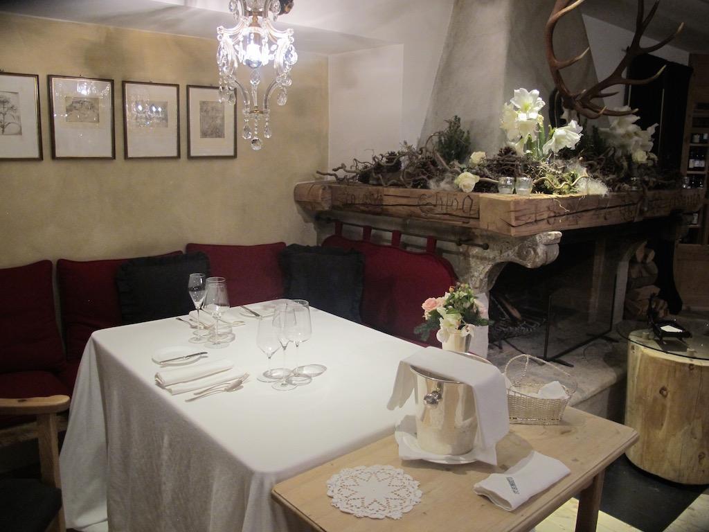 Sala, St. Hubertus, Chef Norbert Niederkofler, San Cassiano in Badia, Bolzano