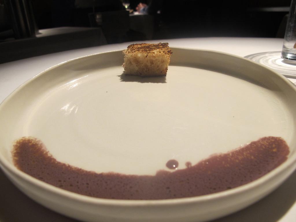 occhi di calamaro, Undicesimo Vineria, Chef Francesco Brutto, Treviso