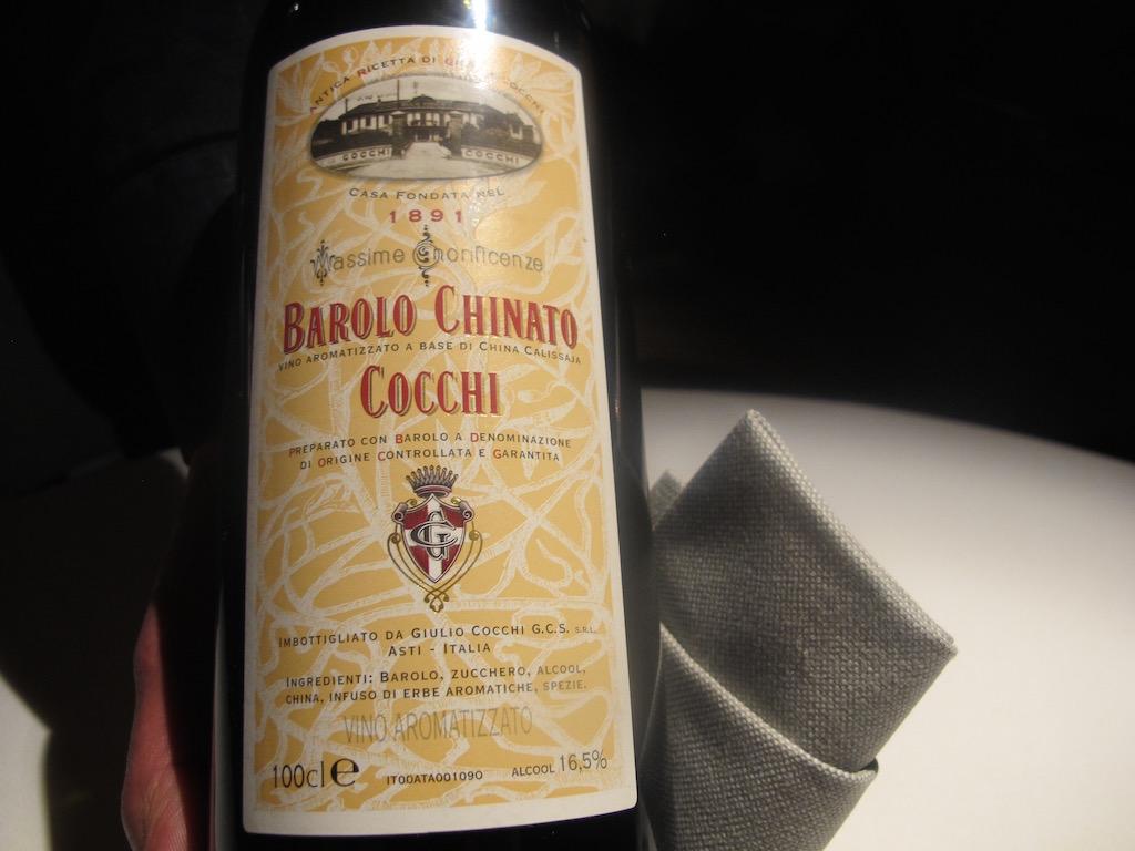 barolo chinato, Undicesimo Vineria, Chef Francesco Brutto, Treviso