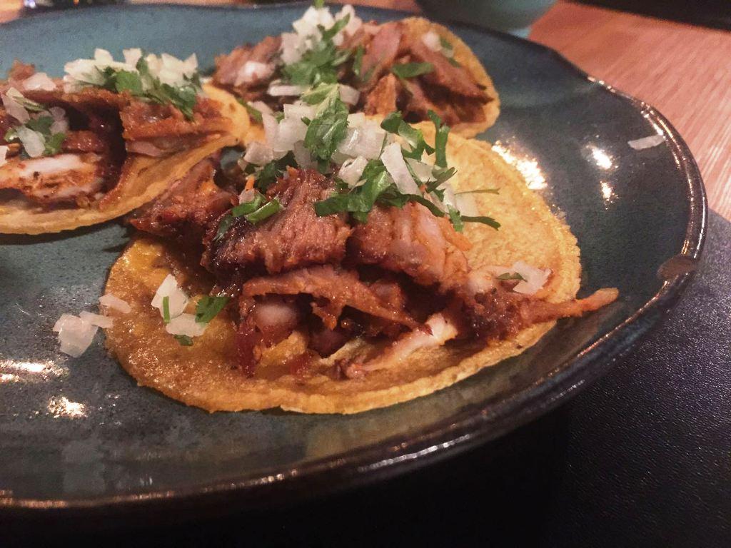 tacos al pastor, Besame Mucho, Chef Mario Espinosa, Milano
