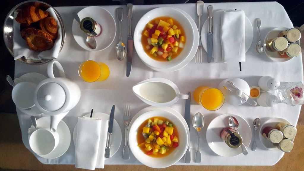 colazione, Hotel Café Royal, London