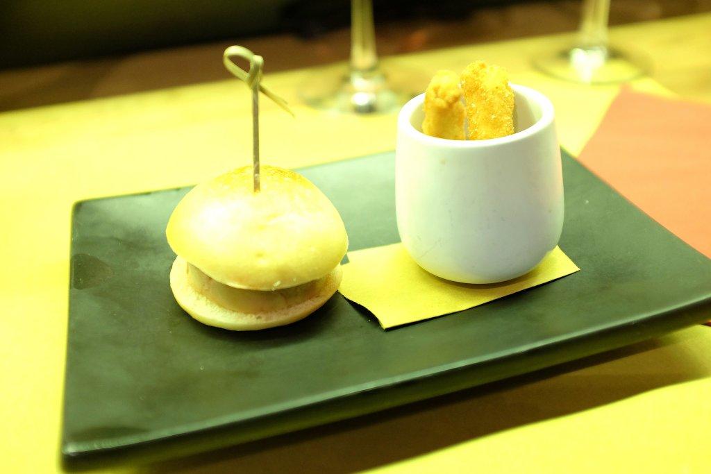 panino, foie gras, Rebelot, Chef Matteo Monti, Navigli, Milano