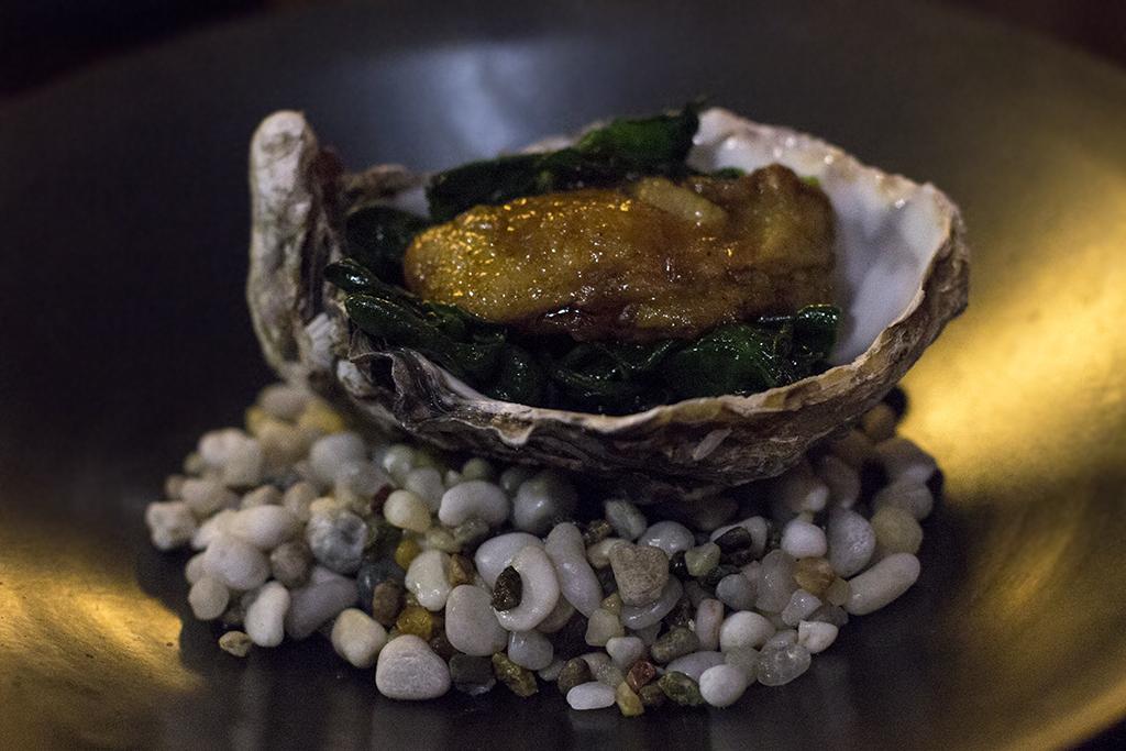 ostrica cotta, Sushi B, Nobuya Niimori, Brera, Milano