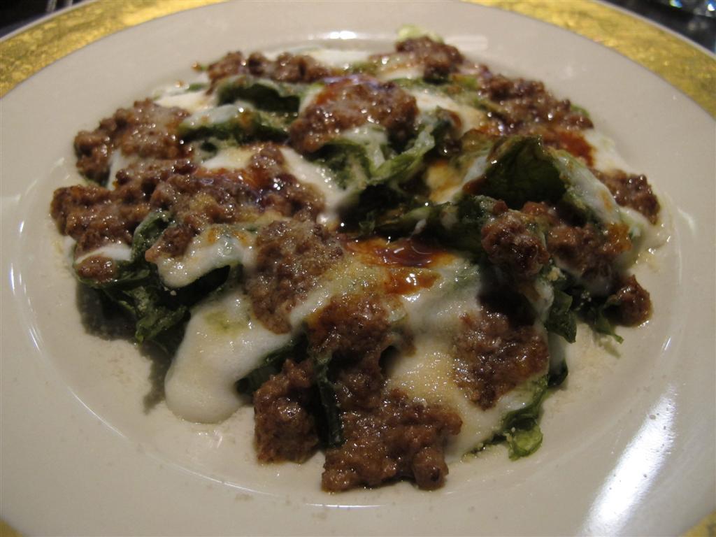 lasagna, Ristorante Del Cambio, Chef Matteo Baronetto, Torino