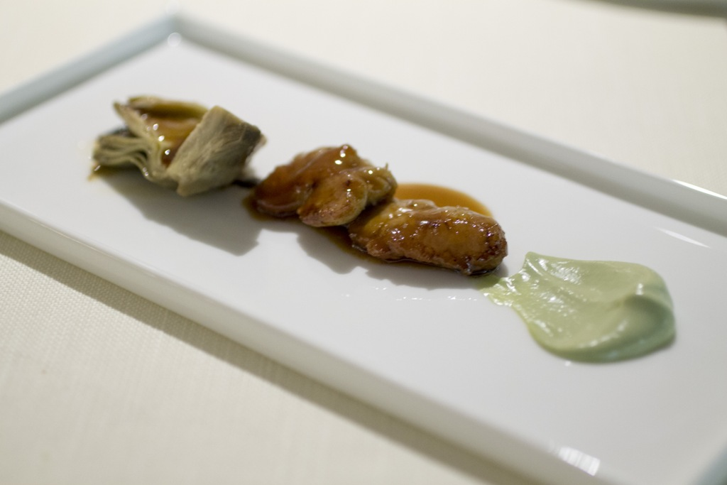 animella glassata, Chef Enrico Bartolini, MUDEC, Milano