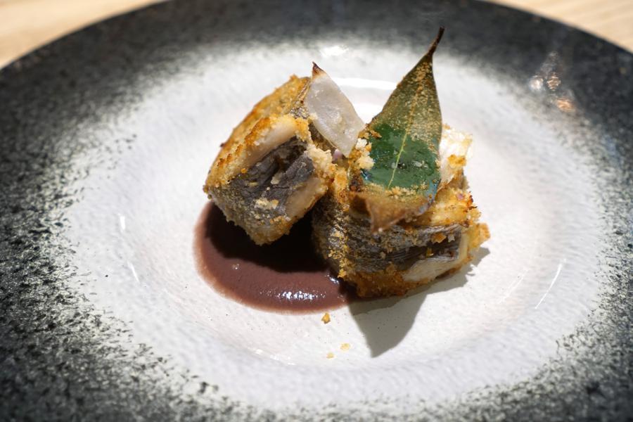 involtini di sciabola, Il Grano di Pepe, Chef Rino Duca, Ravarino, Modena