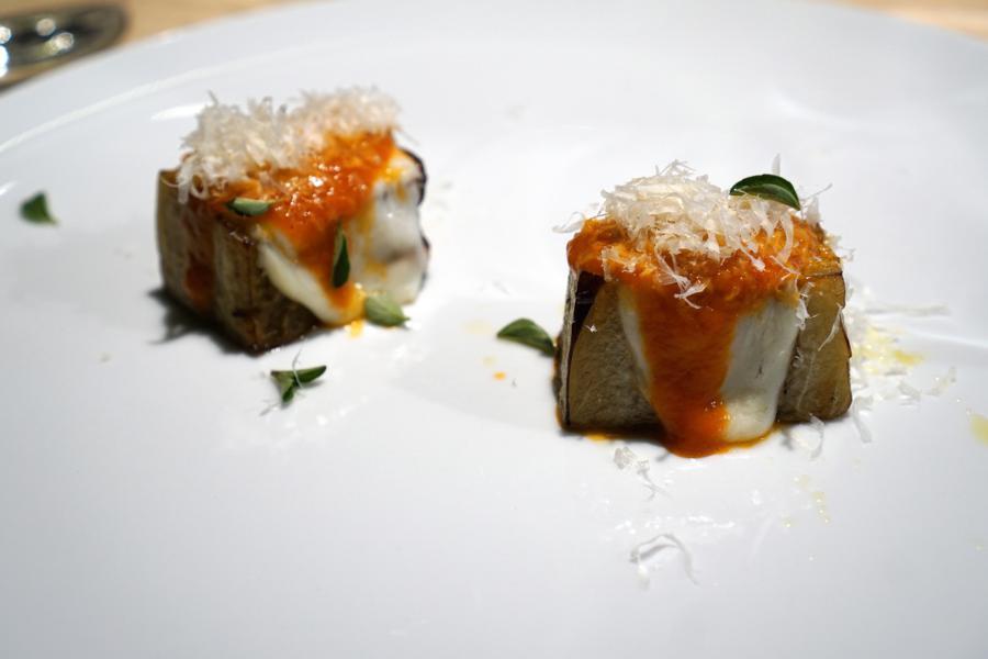 parmigiana, Il Grano di Pepe, Chef Rino Duca, Ravarino, Modena