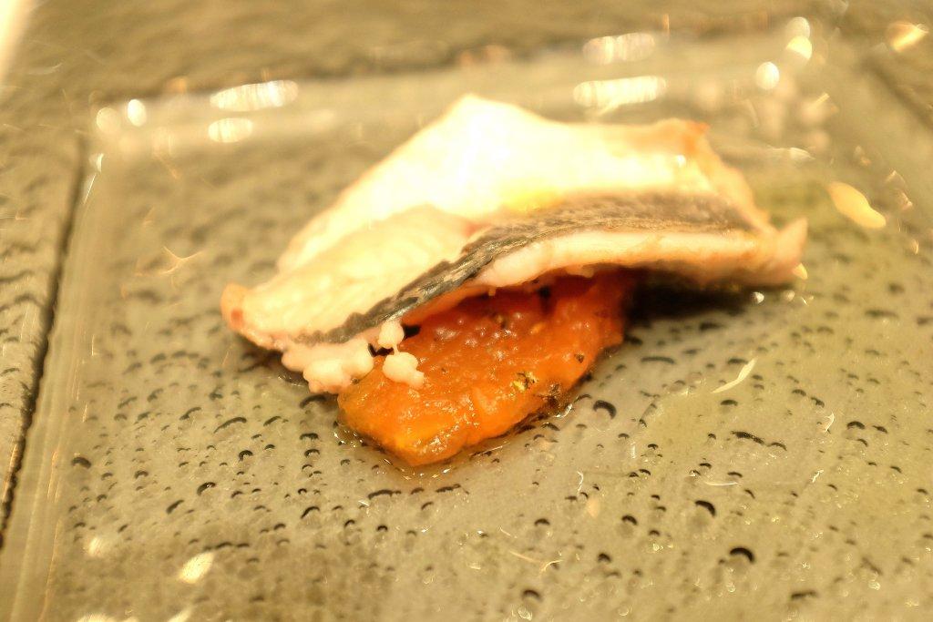 Sauro su pomodoro, Taverna del Capitano, Chef Alfonso Caputo, Nerano, Napoli