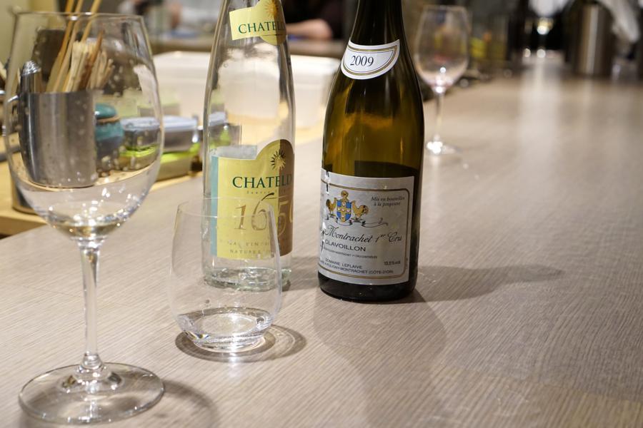 vino, Bissoh, Chef Mikihiko Sawahata, Beune, France