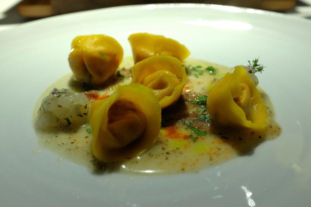 Tortello, Antica Osteria Cera, Chef Lionello Cera, Lughetto di Campagna Lupia, Verona
