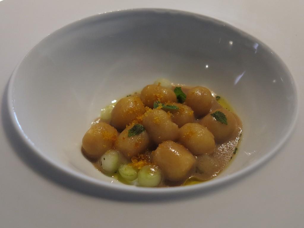 gnocchi come un'insalata, Osteria Francescana, Chef Massimo Bottura, Modena, 50best