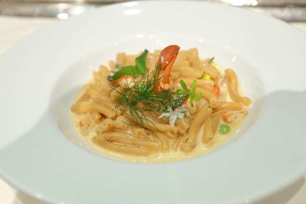 pasta con fagioli, Locanda Barbarossa, Chef Othmar Schlegel, Ascona, Svizzera