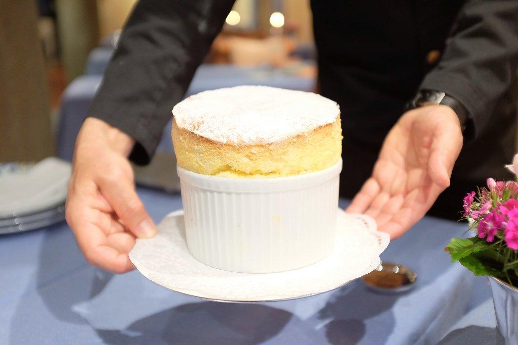 soufflé, Locanda Barbarossa, Chef Othmar Schlegel, Ascona, Svizzera