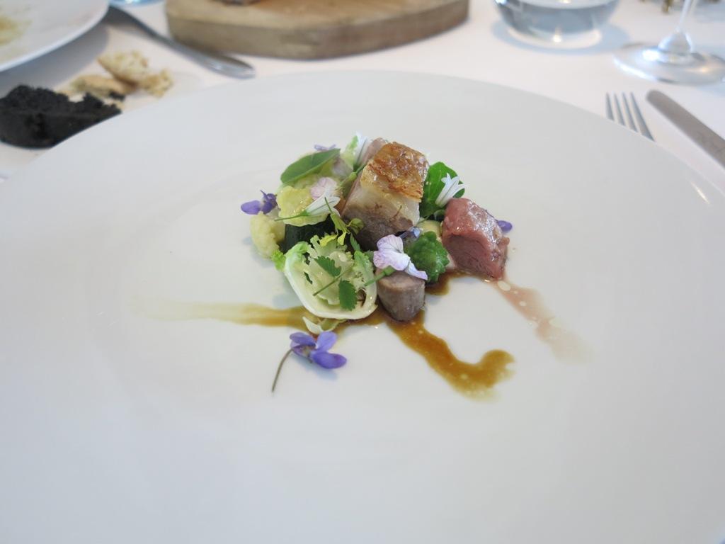 Sella d'agnello, Mirazur, Chef Mauro Colagreco, Menton, France