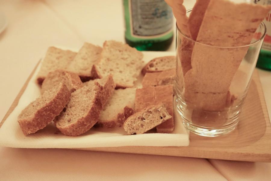pane, Antica Trattoria di Sacerno, Chef Dario Picchiotti, Sacerno di Calderara di Reno, Bologna