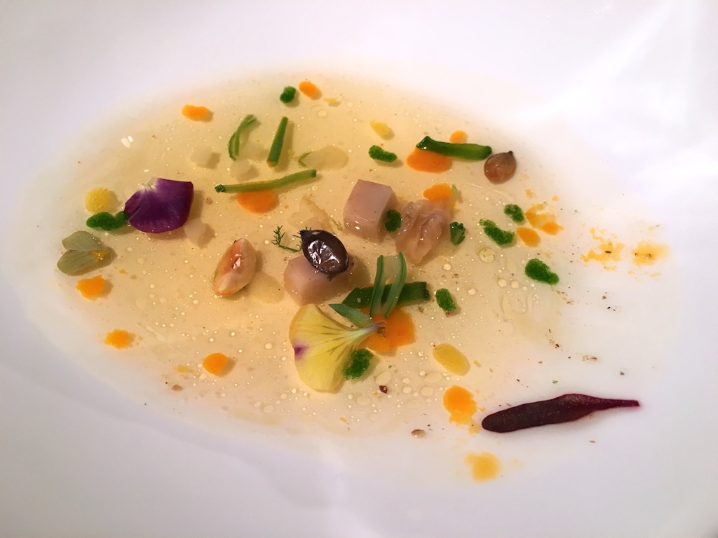 consommé, El Celler de Can Roca, Chef Joan Roca, Girona, The World's 50 Best Restaurants