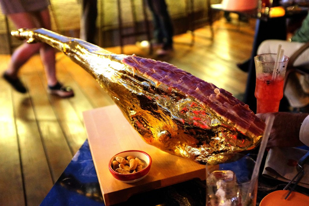Jamon, Heart Ibiza, Chef Fernand e Albert Adrià, Spain