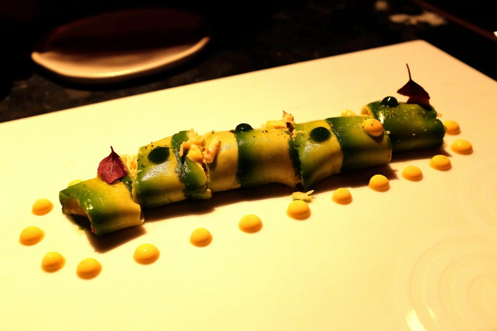 Cannelloni di avocado, Heart Ibiza, Chef Fernand e Albert Adrià, Spain
