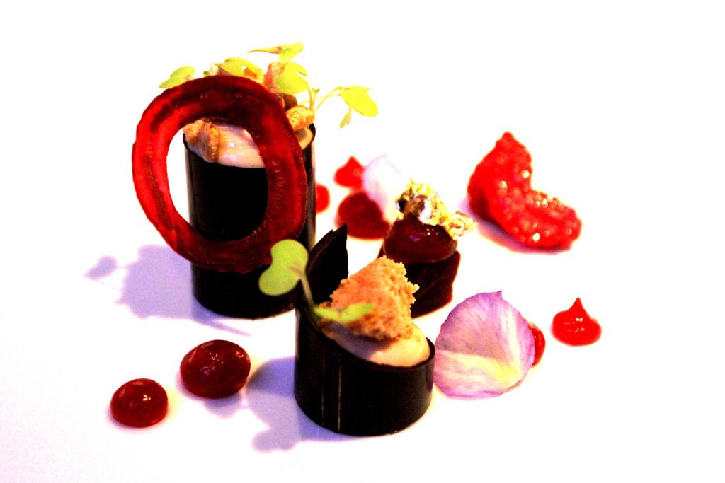 Cremoso di nocciola, Il Comandante, Chef Salvatore Bianco, Hotel Romeo, Napoli