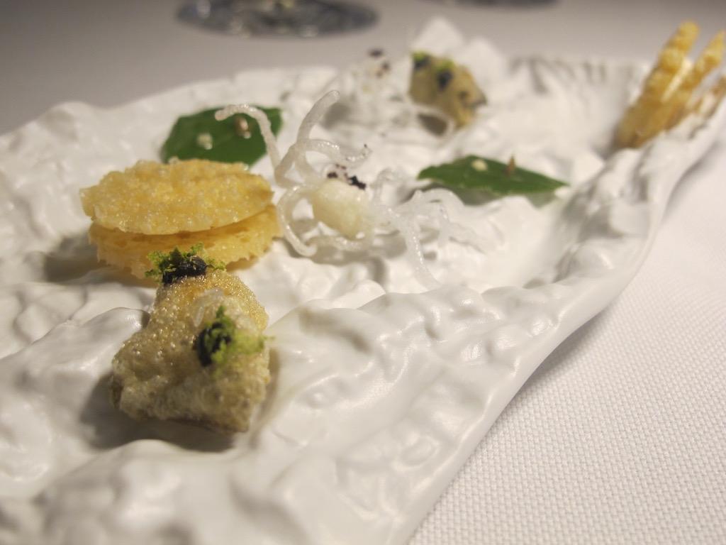 amuse bouche,Inkiostro, Chef Terry Giacomello, Parma