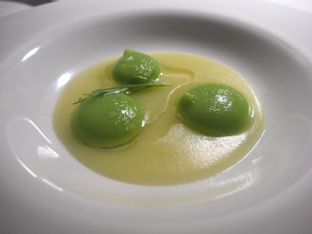 gnocchi liquidi, Inkiostro, Chef Terry Giacomello, Parma