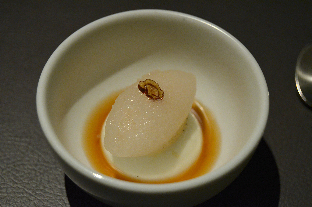 panna cotta, Jungsik, Chef Jung Sik Yim, Seoul, South Korea