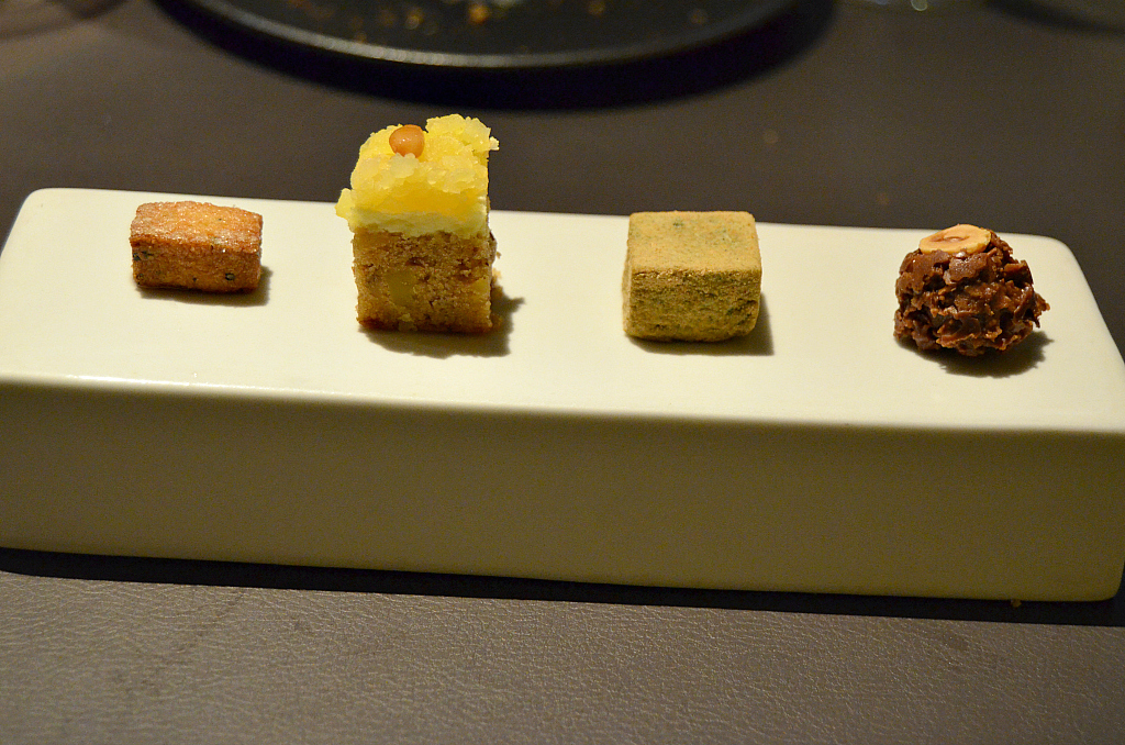 Petit fours, Jungsik, Chef Jung Sik Yim, Seoul, South Korea