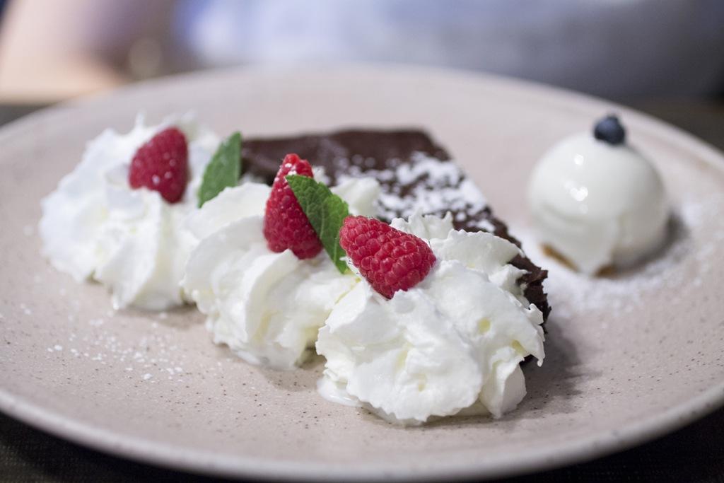 fudge cake, Orsone - La Taverna, Lidia e Joe Bastianich, Cividale del Friuli